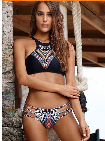 Andria Printed Bikini - Absolutely Stunning! - Available in XL - Bak2Bay6Store