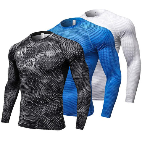 Moisture Wicking Long Sleeve Gym/Fitness Shirt- Available in PLUS SIZE - Bak2Bay6Store