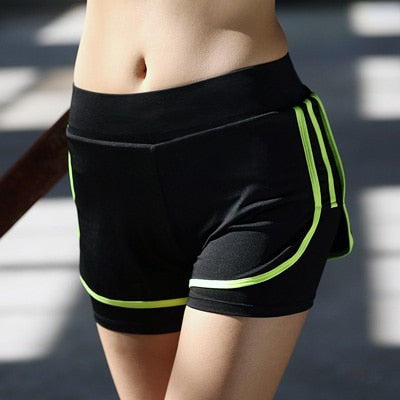 Anti-Friction Quick Dry Sports Shorts - 2 in 1 Double Layer - Available in XXL