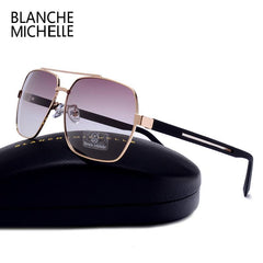 High Quality Square Frame Sunglasses - Bak2Bay6Store