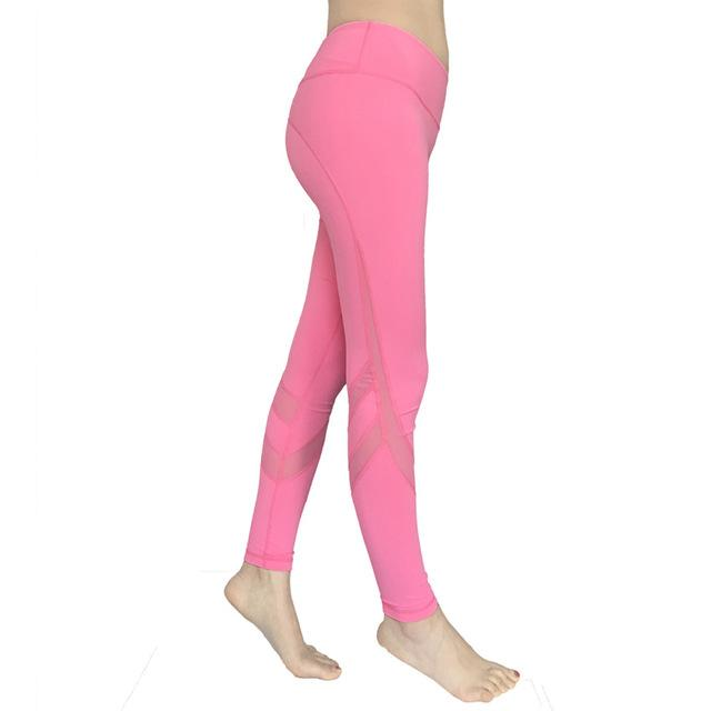 Mesh Yoga Pants - Leggings - Bak2Bay6Store