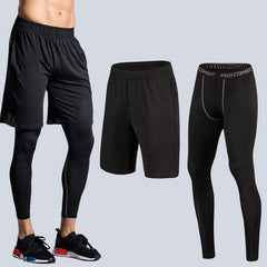 2 Piece Compression Training Pants- PLUS SIZE AVAILABLE - Bak2Bay6Store