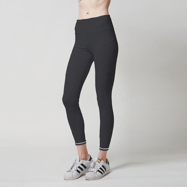 Mid Waist Yoga Leggings with Side Pocket - Available in XL - Bak2Bay6Store