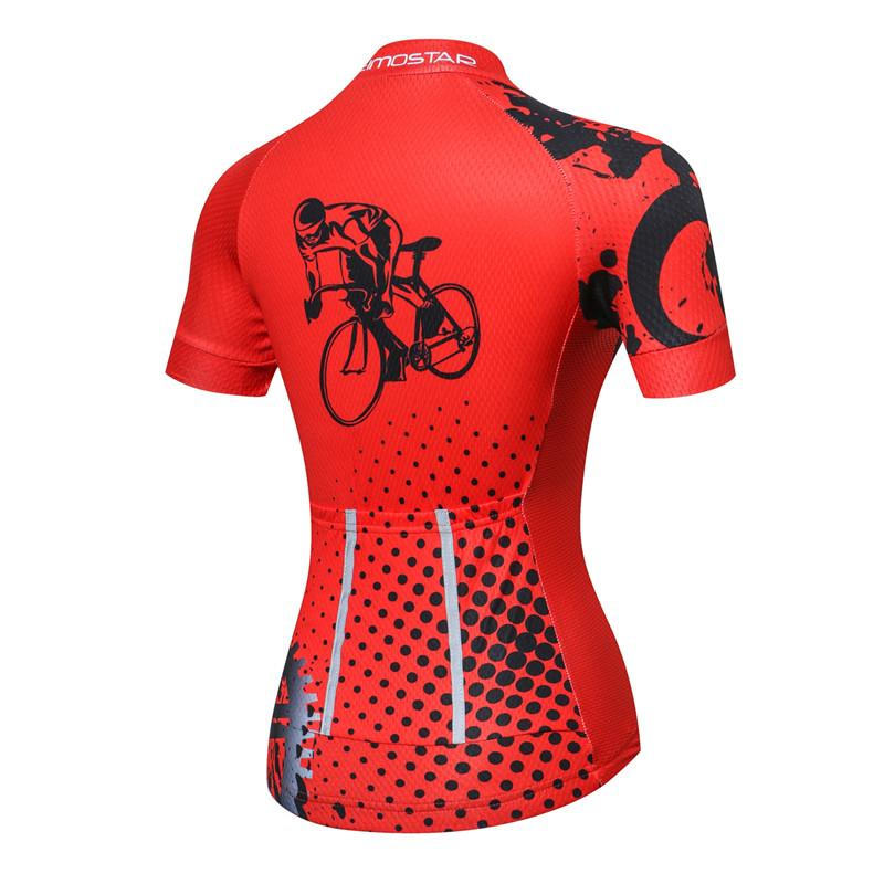 Women's cycling jersey, Anti-sweat Cycling Jersey, Summer Jerseys, Dry-fit Cycling Jersey, High Quality Cycling Shirts, Cycling clothing from bak2bay6.store