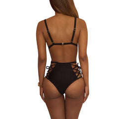 High Waist Beach Bikini Set - Bak2Bay6Store