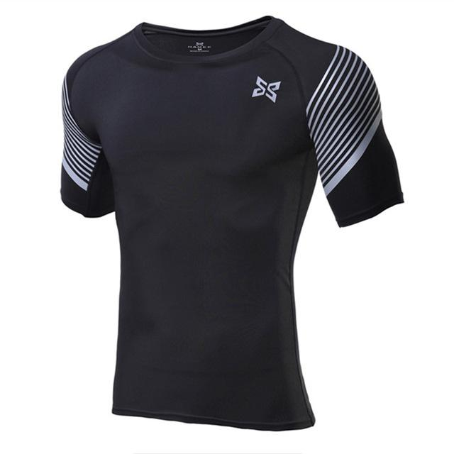 Cool Compression Sport Shirt- Available in PLUS Size - Bak2Bay6Store