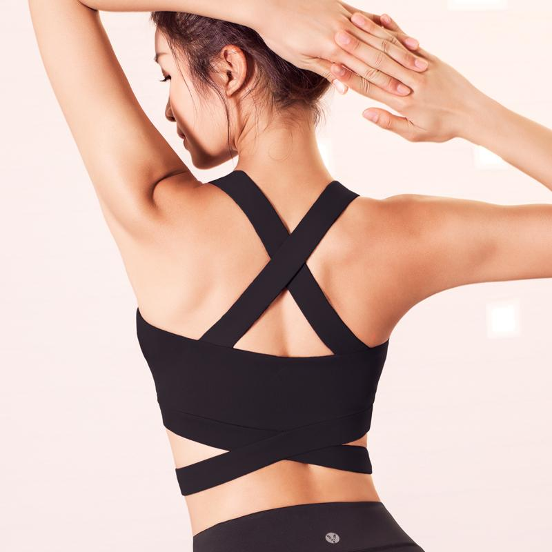 Strappy High Impact Sports Top - Bak2Bay6Store