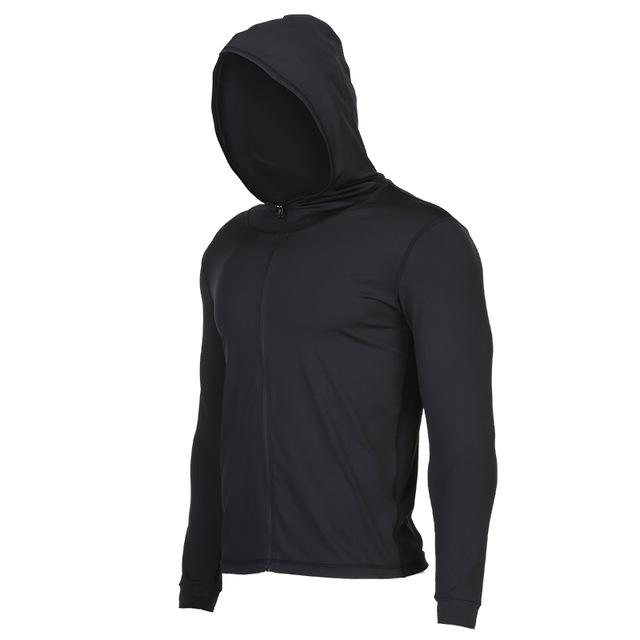 Quick Dry Hooded Sports Jacket - Bak2Bay6Store