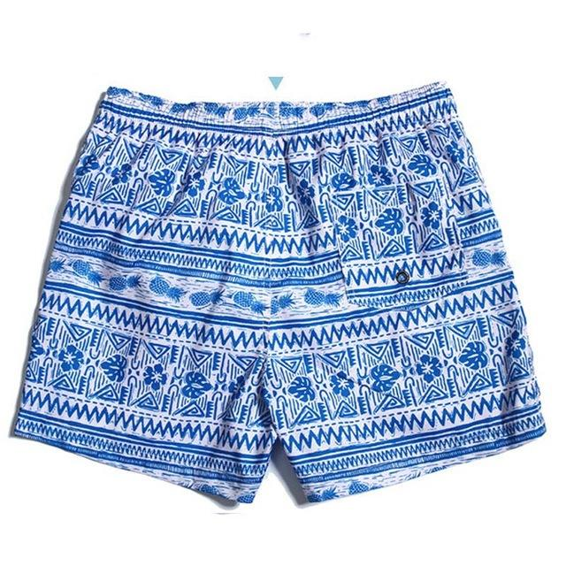 New Geometric Beach Shorts- Available in PLUS Size - Bak2Bay6Store