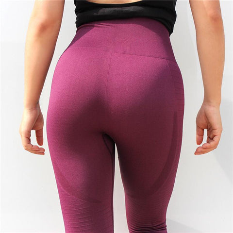 High Waist Tummy Control Fitness Leggings -Available in XL - Bak2Bay6Store