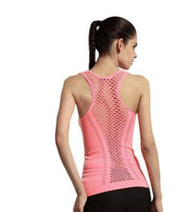 2018 Sexy Hollow Mesh Fitness/Yoga Top - Bak2Bay6Store