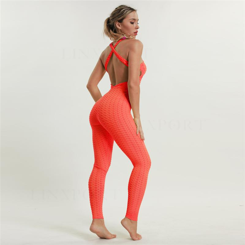 Stunning One Piece Workout/Yoga Tracksuit For Women - Bak2Bay6Store