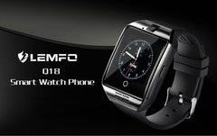 LEMFO Q18 Touch Screen Smartwatch with Health Tracker - Bak2Bay6Store