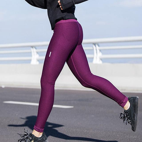 High Waist Yoga Leggings with High Elasticity and Dri-FIT Technology- Available in XL - Bak2Bay6Store