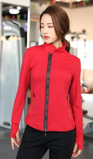 2018 New Anti-Wrinkle Yoga Sports Jacket - Bak2Bay6Store