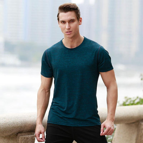 2018 Quick Dry Sports/Fitness Shirt- Available in PLUS SIZE - Bak2Bay6Store