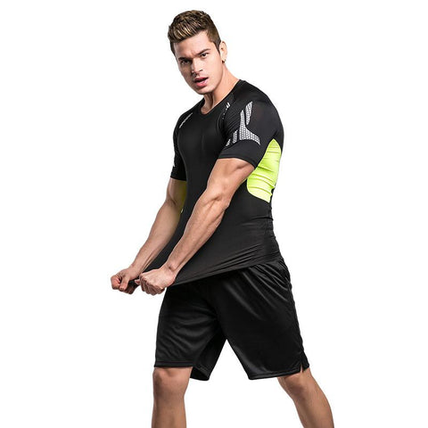 Quick Dry 2018 Mens Compression Sports Set - Bak2Bay6Store