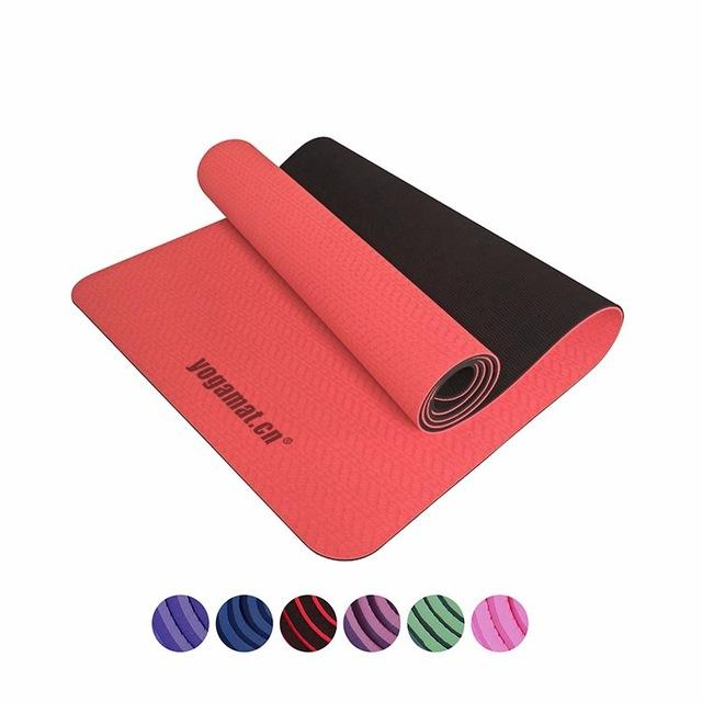 Top Quality None-Slip Yoga Mat TPE with Bag and Rope - Bak2Bay6Store