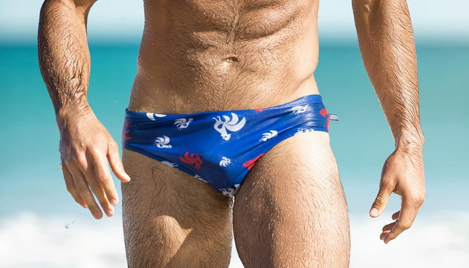 Austinbem Sexy Swimming Trunks - Bak2Bay6Store