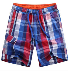 Checkered Mens Shorts- Available in PLUS Size - Bak2Bay6Store