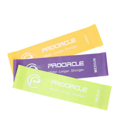 3 Pcs Pro Power Loop Resistance Band