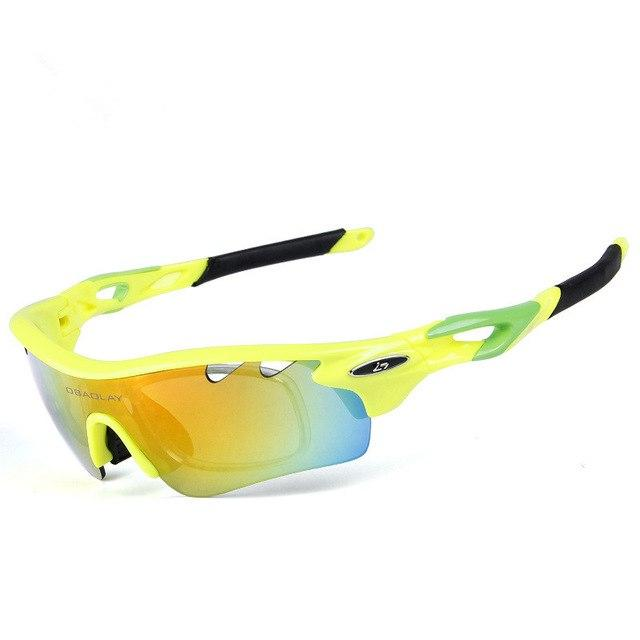 Set of 5 Lens Polarized Cycling Sunglasses for Men & Women - Bak2Bay6Store