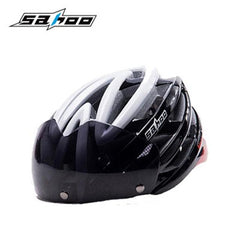 New Ultralight Integrally-Molded Cycling Helmet with Magnetic Goggles - Bak2Bay6Store