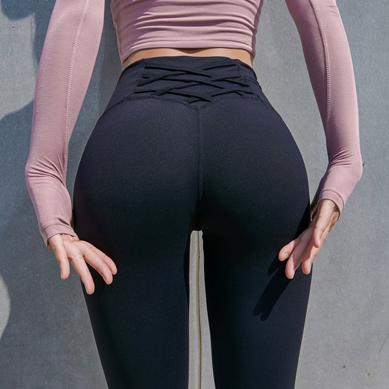 High Rise Push Up Fitness Leggings
