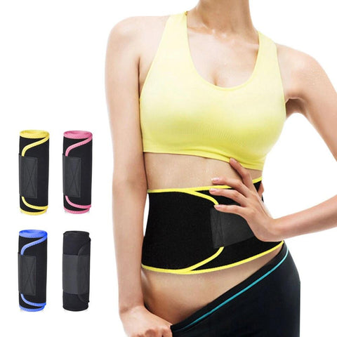 Waist Trimmer and Support Belt for Men & Women