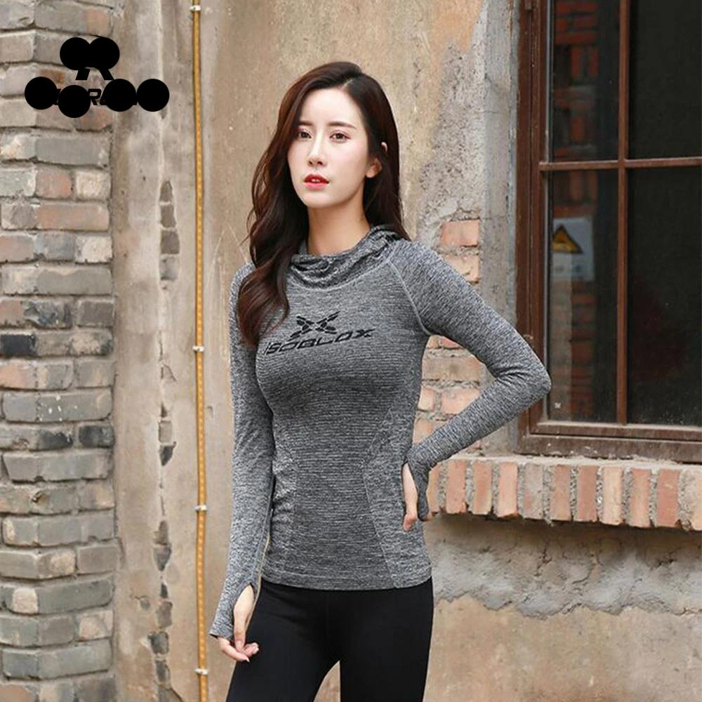 Stretchy Long Sleeve Sports Top