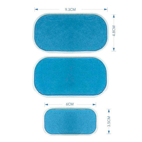 ABS Stimulator Hydrogel Replacement Gel Pads For EMS Trainer