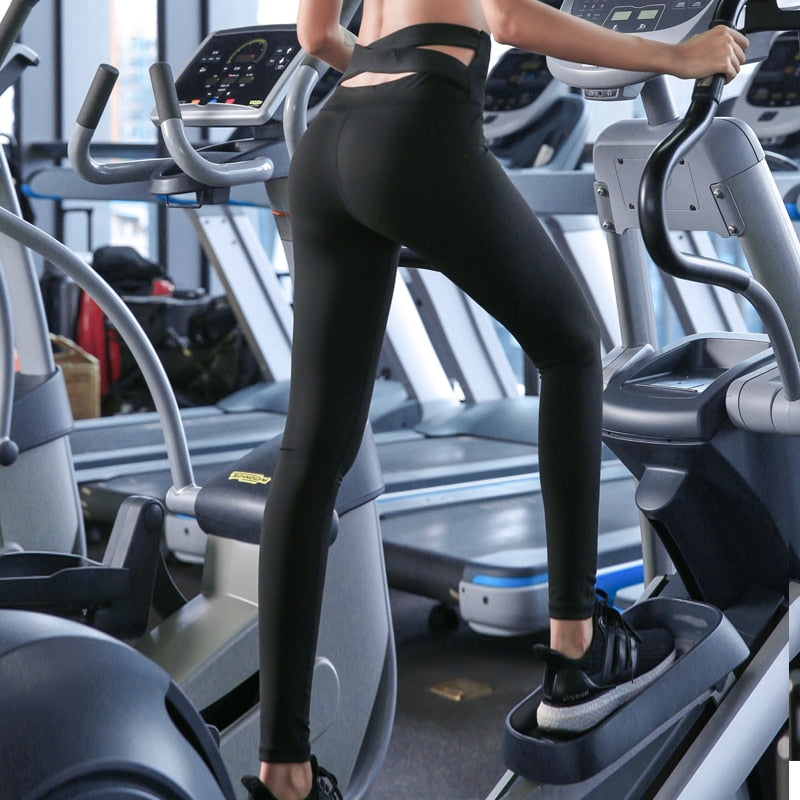 Flattering Anti-Sweat Fitness Leggings