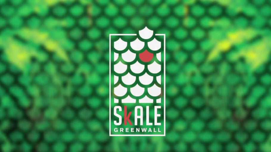 SKALE EDIBLE GREENWALL