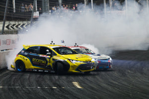 Rockstar Energy Drink / Nexen Tire Toyota Corolla Hatchback second in 2019 Formula Drift championship