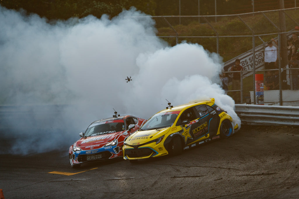 Fredric Aasbo takes Formula Drift points lead