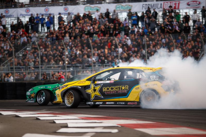 Fredric Aasbo opens 2018 Formula Drift season with victory