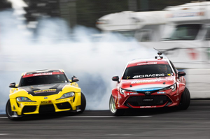 Fredric Aasbo slides into Formula Drift points lead, Ryan Tuerck tied for second