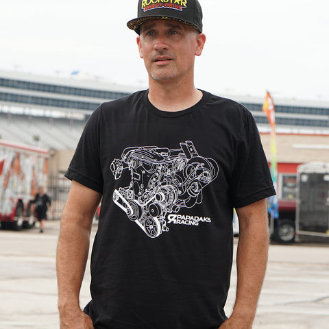 1000 HP Engine Tee
