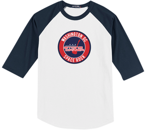 Raglan - Stone Driver Sports - Navy Blue / White