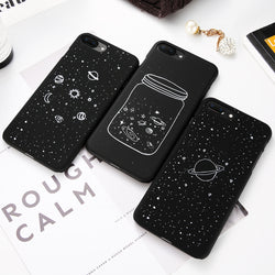 Fashion Space iPhone Case For iPhone 6 6S 7 8 Plus 5 5S SE X XS XR Case