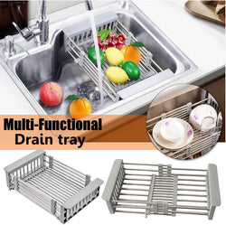 Adjustable Steel Drain Basket