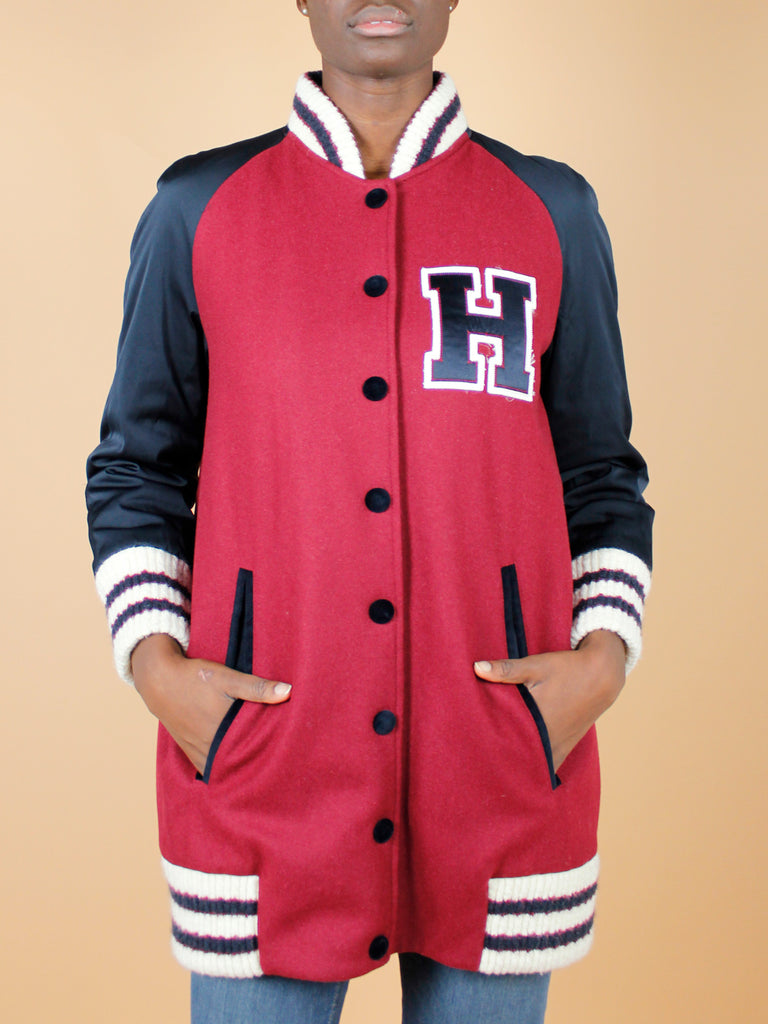 TOMMY HILFIGER MAXI BOMBER