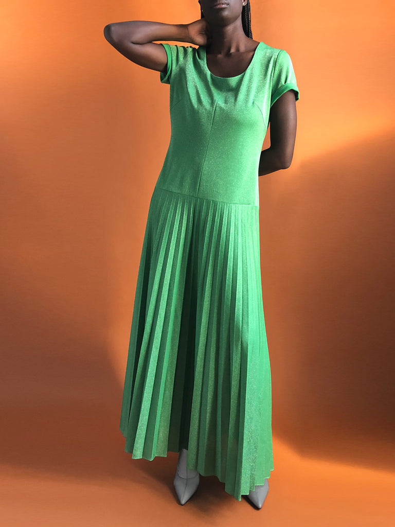 80s LUREX MAXI DRESS