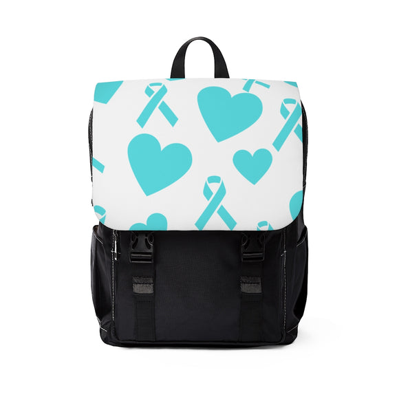 Ribbons & Hearts Backpack