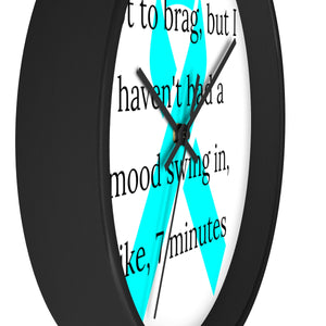 Mood Swing Wall clock