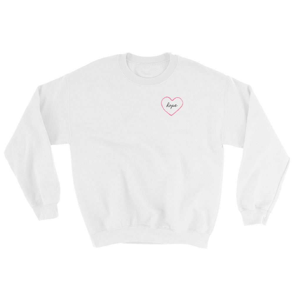Hope in Heart Sweatshirt