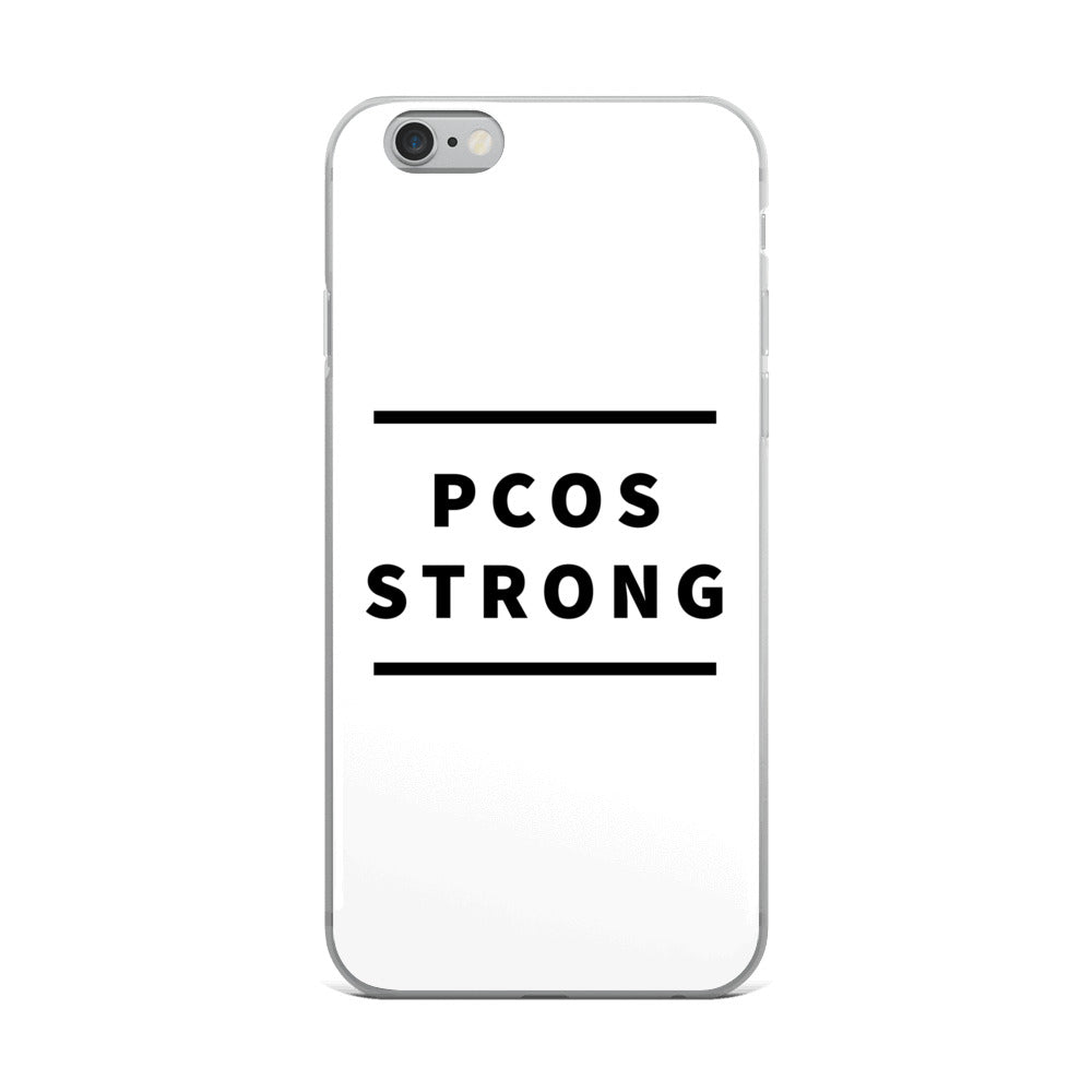 PCOS Strong iPhone Case