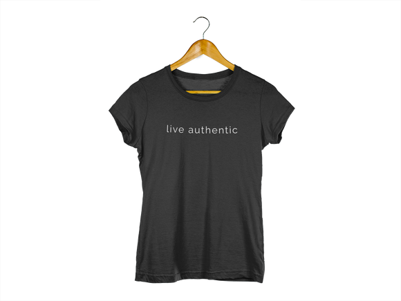 Live Authentic Unisex T-Shirt