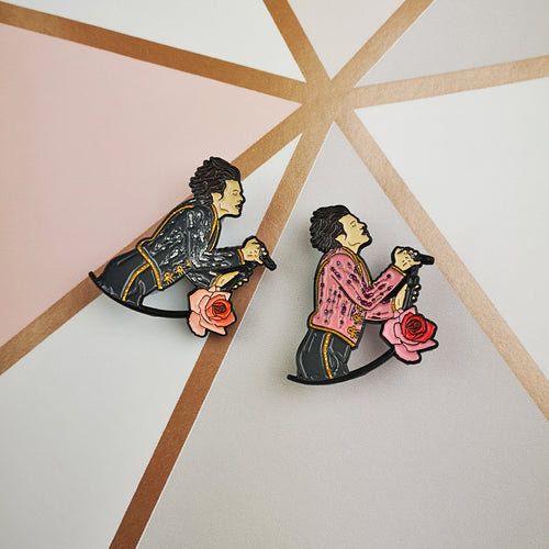 Harry London & LA Enamel Pin
