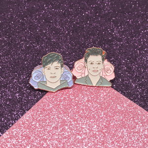 Harry & Louis Pastel Enamel Pin